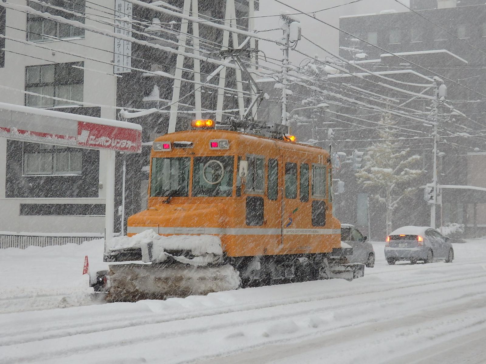 札幌市電のササラ電車